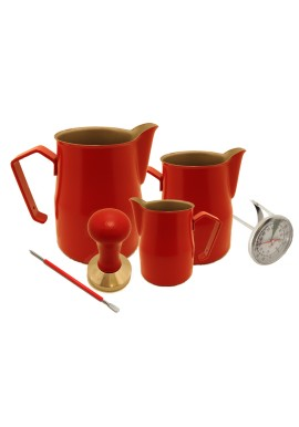 Kit Caffetteria Rosso