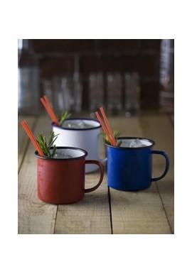 Blue Enamel Tasse /Blu Enamel Mug