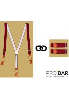 Kit Bretelles + Serre-manches Barman Vintage