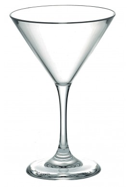 Polycarbonate 15cl Coupe Martini