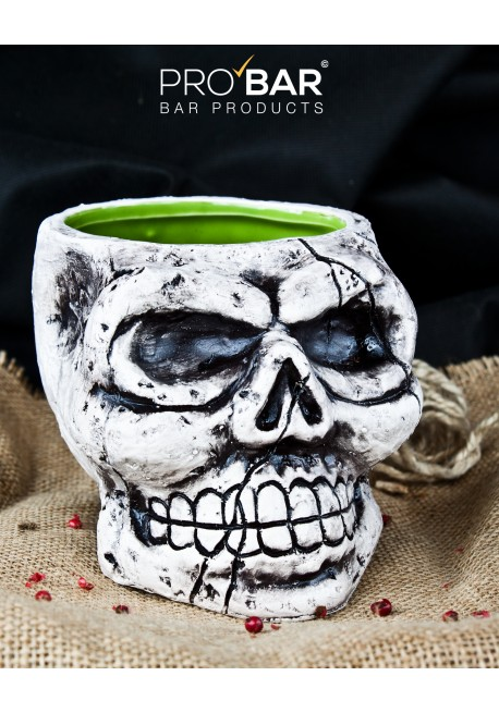Skull Stone Mug