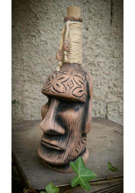 Bouteille Moai Tiki