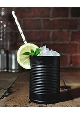 Black Noir Tin Can