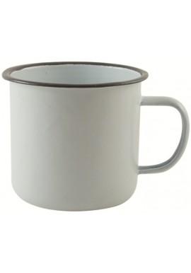 Tasse Vintage Enamel Blanche