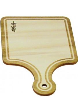 Mini Tagliere Vintage Quadrato Legno Faggio