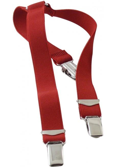 Bretelle Elastico Rosso
