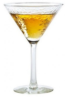 Verre Double Coupe Martini Glam