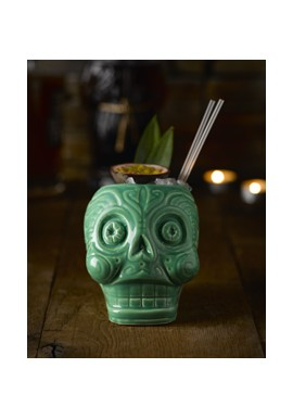 Day of the Dead Lime - Tiki Mug