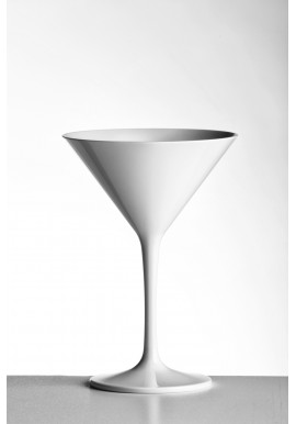Verre Double Coupe Martini en Polycarbonate