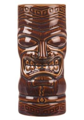 Tiki Totem Mask Marron